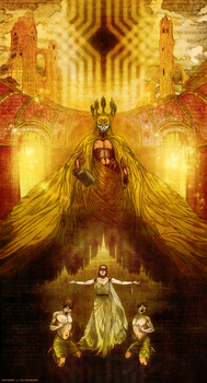 The King in Yellow by WendigoMoon