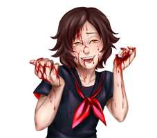 Guro Yandere - BLOOD SOUP by Mafer
