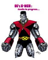 Eighties Colossus by mikey-c