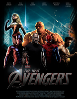 Marvel's THE NEW AVENGERS - POSTER I by MrSteiners