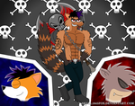 RS Gift: Fusion Aldon by skull1045fox