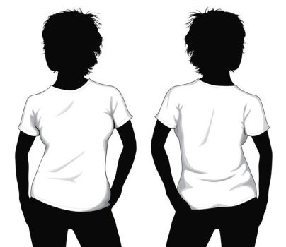T-Shirt-Template (Apparel Template) | Deviantart