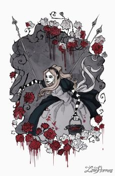 Painting The Roses Red by IrenHorrors
