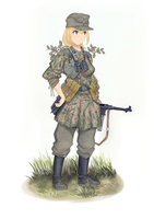 Sturmscharfuhrer 1943 (C) by The-King-in-Grey
