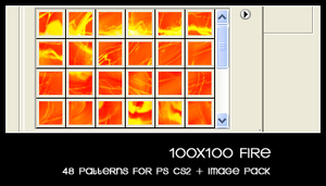 100x100 fire by deviantales