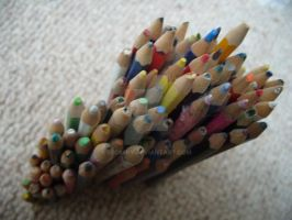 Structure of Pencils 2 by bec66ky