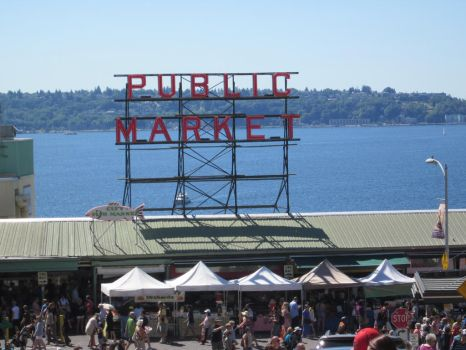 Pike's Place Sign by Tempest19