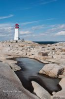 Peggy's Cove Lighthouse by AEisnor