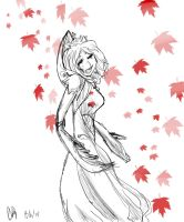 Leaf Queen by Xiolee