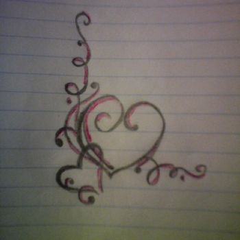 Heart Tattoo- Illustrated by TheOnlyColonelLuke by TheOnlyColonelLuke