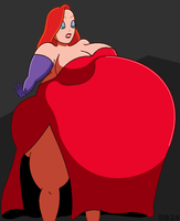 Jessica Rabbit Inflated by SB-24