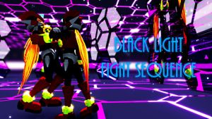 MMD/MME: Black Light Fight Sequence (video) by shadowaya4ever