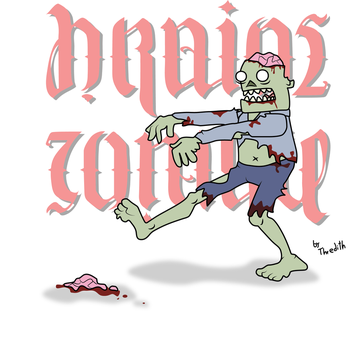 Zombie - Brains by thredith