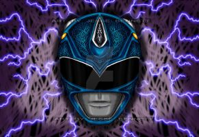 Blue Ranger... Mighty Morphin Power Rangers by blueliberty