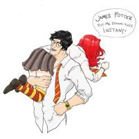 James' 'Pick Up Line' by TeddysTwin