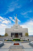LDS Draper Temple 3 by creativelycharged