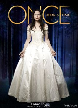 Snow OUAT Poster by fillesu96