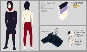 Ciaran Cavanagh reference sheet by AMEcco