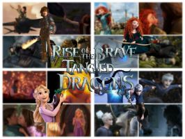 Rise Of The Brave Tangled Dragons by stitch5408