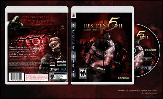 Resident Evil Gold Edition PS3 by N4ch0