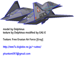 ADF-01 Falken Erusea Gray WIP by phantom-n