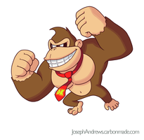 Donkey Kong by Fighterjoe