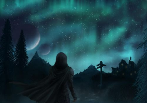 The Nights of Skyrim by Argent-Sky