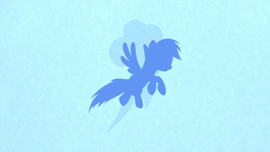 Rainbow Dash Minimalist Wallpaper by apertureninja
