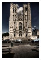 Cathedral St. Michael + Gudula by myINQI