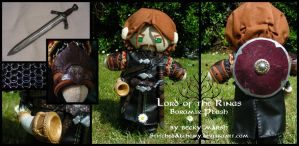 Lord of the Rings: Boromir Plush by StitchedAlchemy