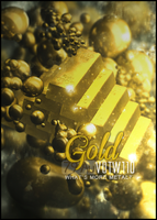 What's more metal than gold? by rafdesigns