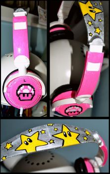Cascos Super Mario 2 by CandiiiLuv