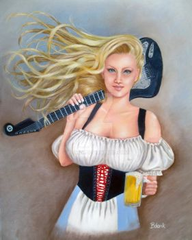 Beer Wench by bdank