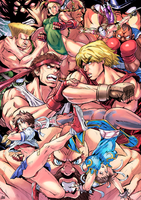 Street Fighter by oNichaN-xD