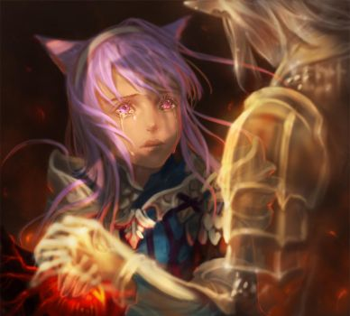 [Haurchefant] Let's do it together. by Athena-Erocith