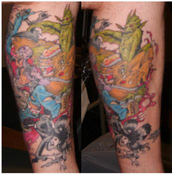 Nick Bradshaw AODtattoo colour by disober