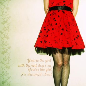 Red Dress by totalizzyness