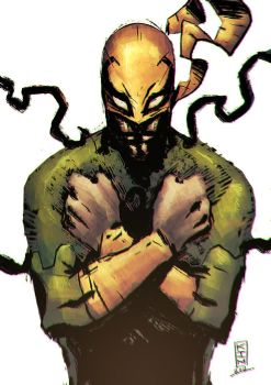 Iron Fist by NesTHORcolors
