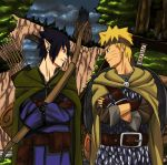 Naruto 679: the elf and the warrior by Feiuccia