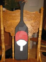 The Uchiha Paddle WIP by Obito--Uchiha