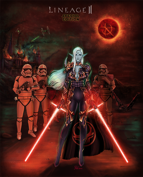 Lineage 2 Star Wars cross over by Hopey-mean