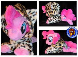 Pinkies leopard hoody by Caleighs-World