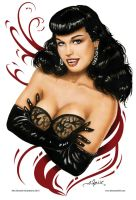 Bettie Page - Revised by AlexBuechel