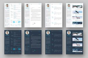 Professional Resume / CV - 4 Pieces by nazdrag