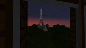 Minecraft - Eiffel Tower by KyzKrus