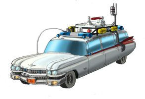 Ghostbusters' Ecto-1 by Johnny216