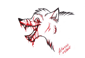 Is it blood?.. by Astarcis