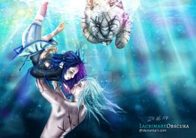 Drown without you (Contest Entry) 3rd Place by LacrimareObscura