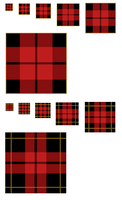 Scots Plaid Patterns .psd by 1389AD