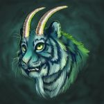 Zoroscope: Capricorn-Tiger by GoldenDruid